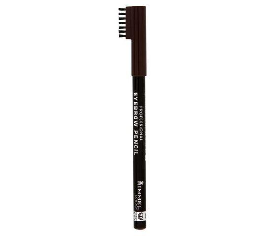 Rimmel Professional Eyebrow Pencil kredka do brwi 001 Dark Brown 1,4g
