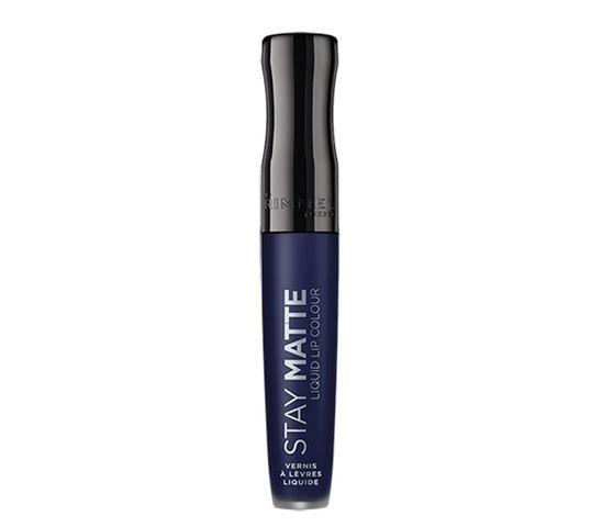 Rimmel Stay Matte Liquid Lip Colour matowa szminka w płynie 830 Blue Iris (5.5 ml)