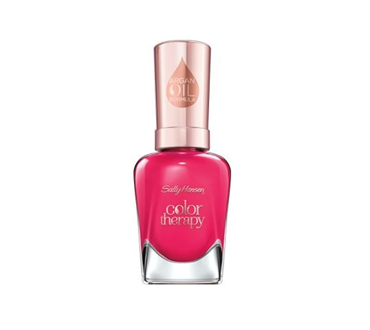 Sally Hansen Color Therapy Argan Oil Formula lakier do paznokci 290 Pampered In Pinki (14.7 ml)