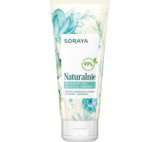 Soraya Naturalnie Delikatny Żel do mycia twarzy 150 ml