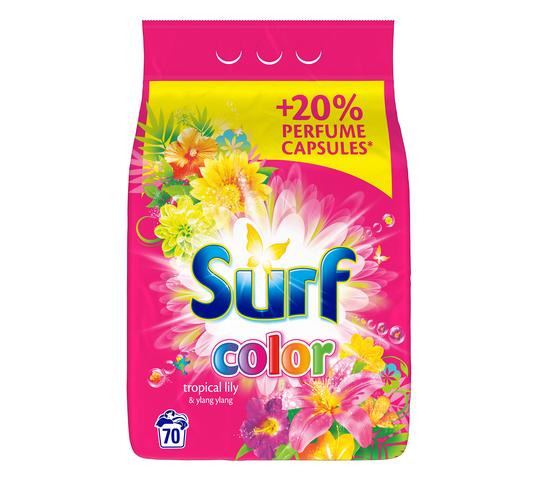 Surf Color Tropical Lily & Ylang Ylang proszek do prania do koloru 4,55kg