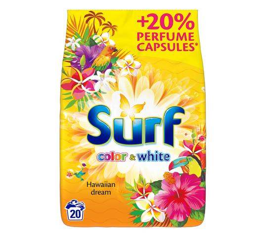 Surf Color & White Hawaiian Dream proszek do prania 1,3kg