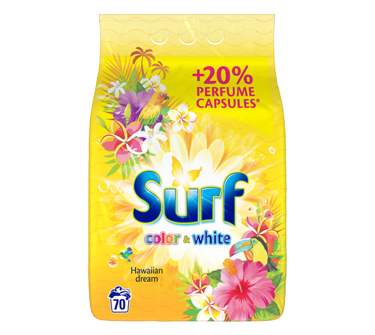 Surf Color & White Hawaiian Dream proszek do prania 4,55kg