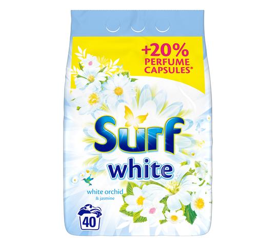 Surf White Orchid & Jasmine proszek do prania do białego 2,6 kg