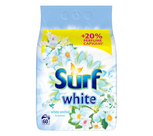 Surf White Orchid & Jasmine proszek do prania do bieli 3,9kg