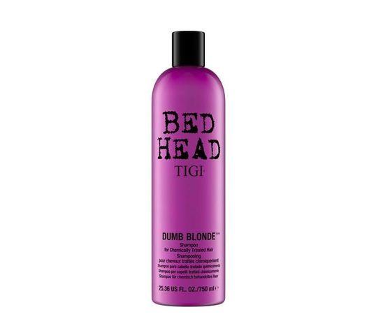 Tigi Bed Head Dumb Blonde Shampoo For Chemically Treated Hair szampon do włosów blond 750ml