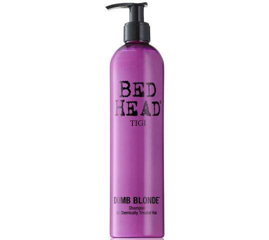 Tigi Bed Head Dumb Blonde Shampoo szampon do włosów zniszczonych zabiegami chemicznymi 400ml