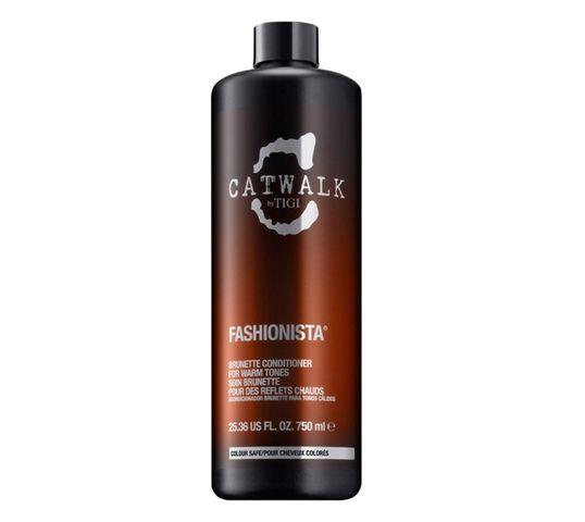 Tigi Catwalk Fashionista Brunette Conditioner odżywka do włosów brązowych 750ml