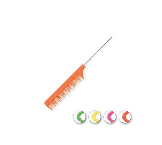 Top Choice – Colours grzebień szpikulec do włosów mix (60199) 1 szt.