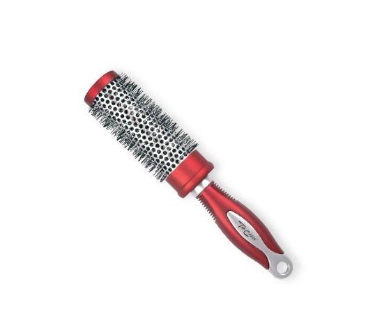 Top Choice Exclusive szczotka do włosów rozmiar M okrągła silver burgund (62025-01) 1 szt.