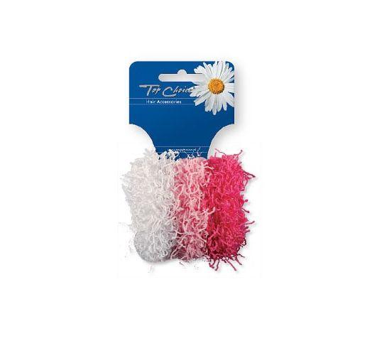 Top Choice Spaghetti gumki do włosów (21688) 1 op. - 3 szt.