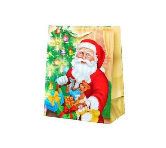 Torebka świąteczna ozdobna - XL (1 szt.)