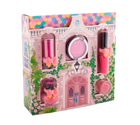 Tutu Domek zestaw prezentowy 5 kosmetyków 01 Scarlet Bow