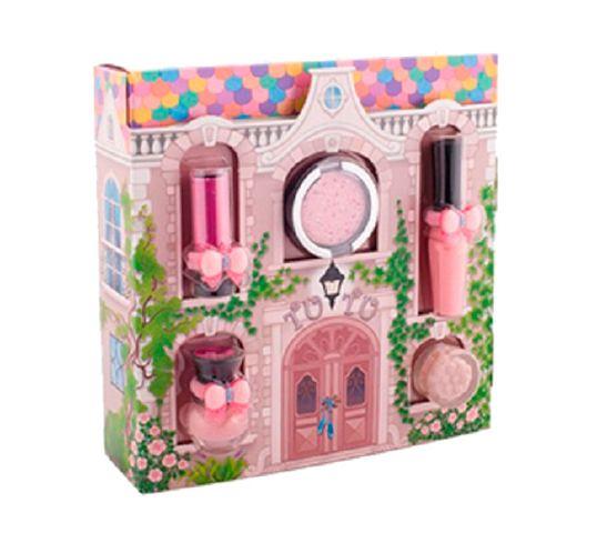 Tutu Domek zestaw prezentowy 5 kosmetyków 03 Pink Pirouette