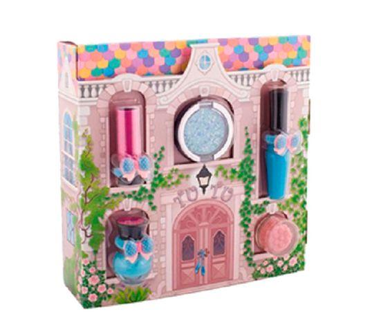 Tutu Domek zestaw prezentowy 5 kosmetyków 04 Turquoise Pointe