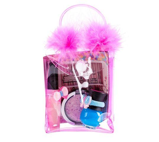 Tutu Mix 23 zestaw prezentowy kosmetyków błyszczyk 03 + lakier 09 + cień 01