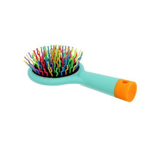 Twish Handy Hair Brush With Mirror szczotka do włosów z lusterkiem Magic Mint