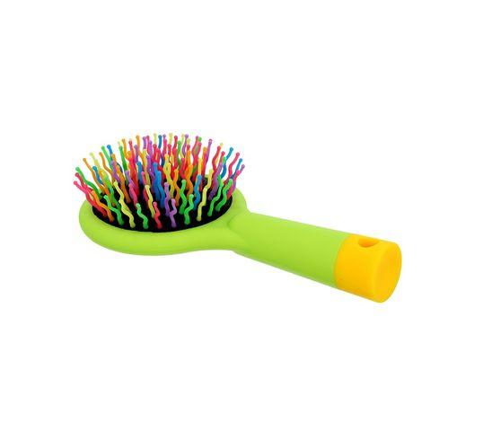Twish Handy Hair Brush With Mirror szczotka do włosów z lusterkiem Spring Bud