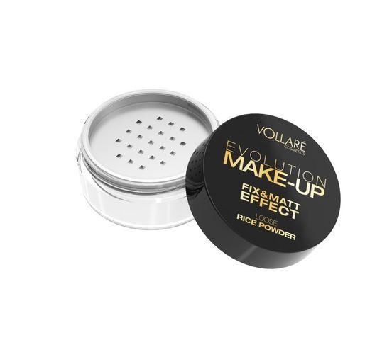 Vollare Cosmetics Puder sypki ryżowy do twarzy  Evolution Make-up 7 g