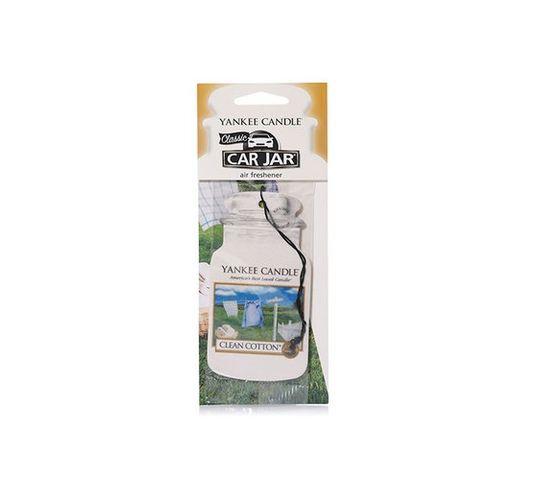 Yankee Candle Car Jar zapach samochodowy Clean Cotton® 1sztuka