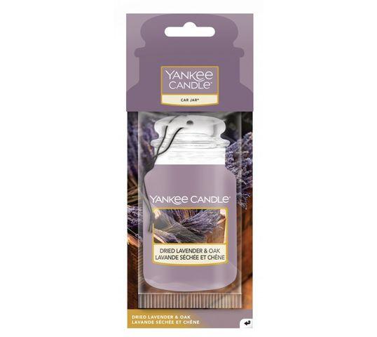 Yankee Candle Car Jar zapach samochodowy Dried Lavender & Oak 1 szt.