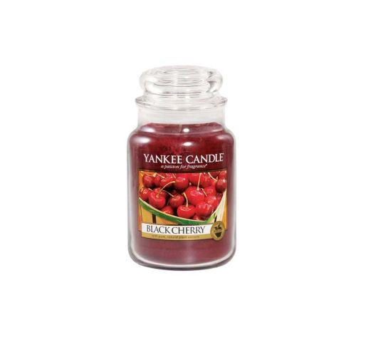 Yankee Candle Świeca zapachowa duży słój Black Cherry 623g