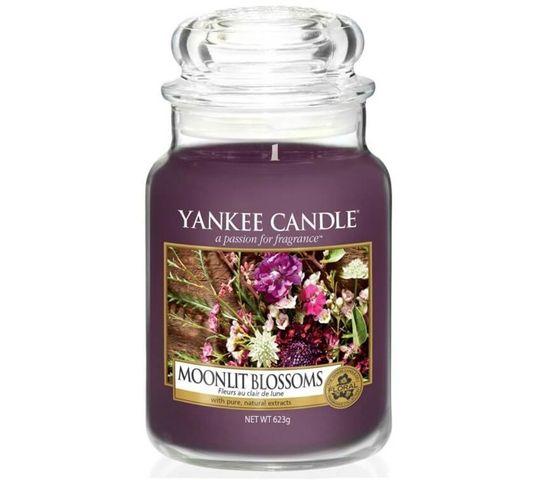 Yankee Candle Świeca zapachowa duży słój Moonlit Blossoms 623g