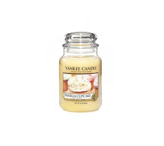 Yankee Candle Świeca zapachowa duży słój Vanilla Cupcake 623g