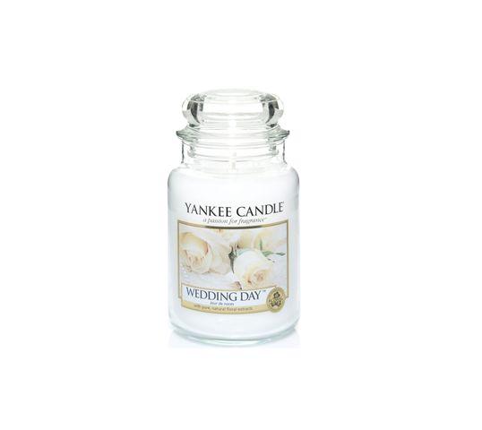 Yankee Candle Świeca zapachowa duży słój Wedding Day® 623g