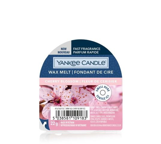 Yankee Candle – Wax Melt wosk zapachowy Cherry Blossom (22 g)