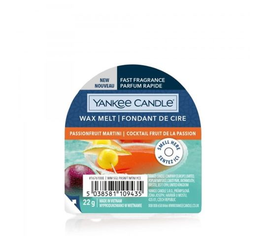 Yankee Candle – Wax Melt wosk zapachowy Passion Fruit Martini (22 g)