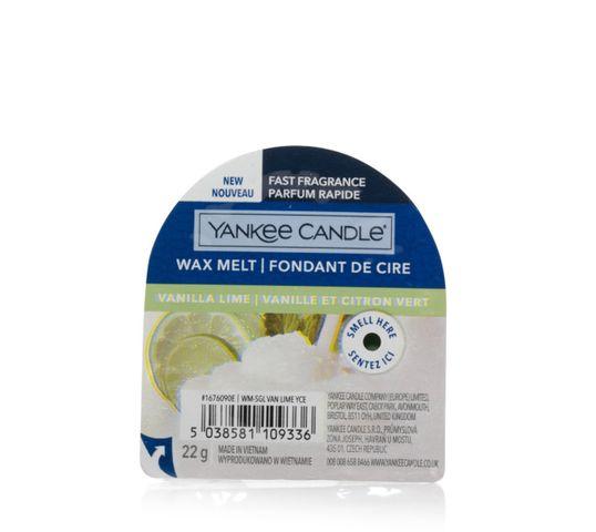 Yankee Candle Wax Melt wosk zapachowy Vanilla Lime (22 g)