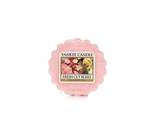 Yankee Candle Wosk zapachowy Fresh Cut Roses 22g