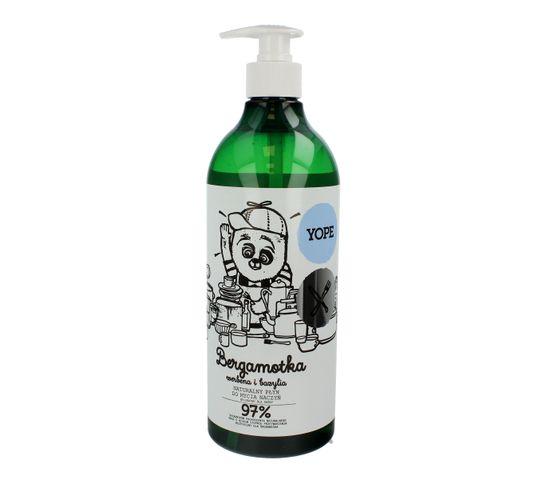 Yope – naturalny płyn do mycia naczyń Bergamotka, Werbena i Bazylia (750 ml)