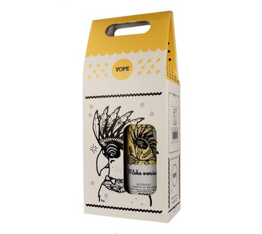Yope – zestaw kosmetyków – szampon i odżywka do włosów, Mleko Owsiane (1 op.)