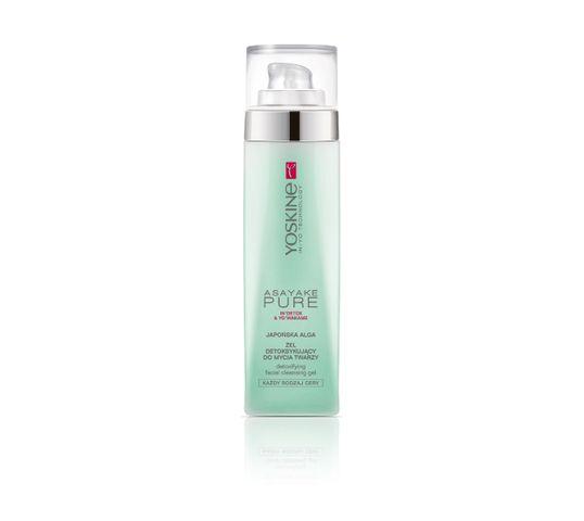 Yoskine Asayake Pure Żel detoksykujący do mycia twarzy - Japońska Alga 200 ml