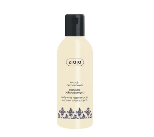 Ziaja ceramidowa odżywka odbudowująca do włosów zniszczonych (200 ml)